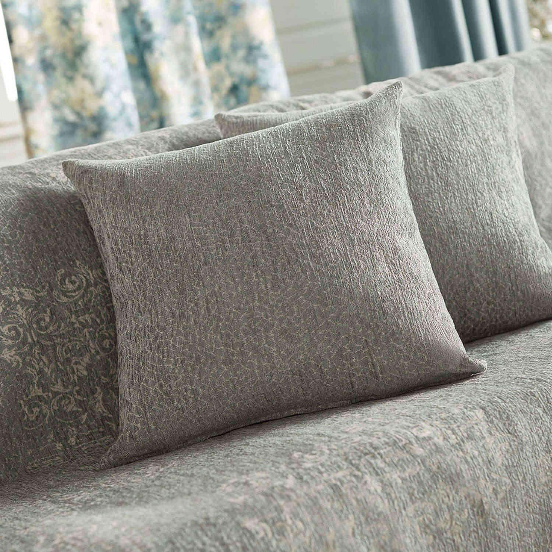Διακοσμητική Μαξιλαροθήκη 948/11 Turquoise Gofis Home 50X50 Chenille-Polyester