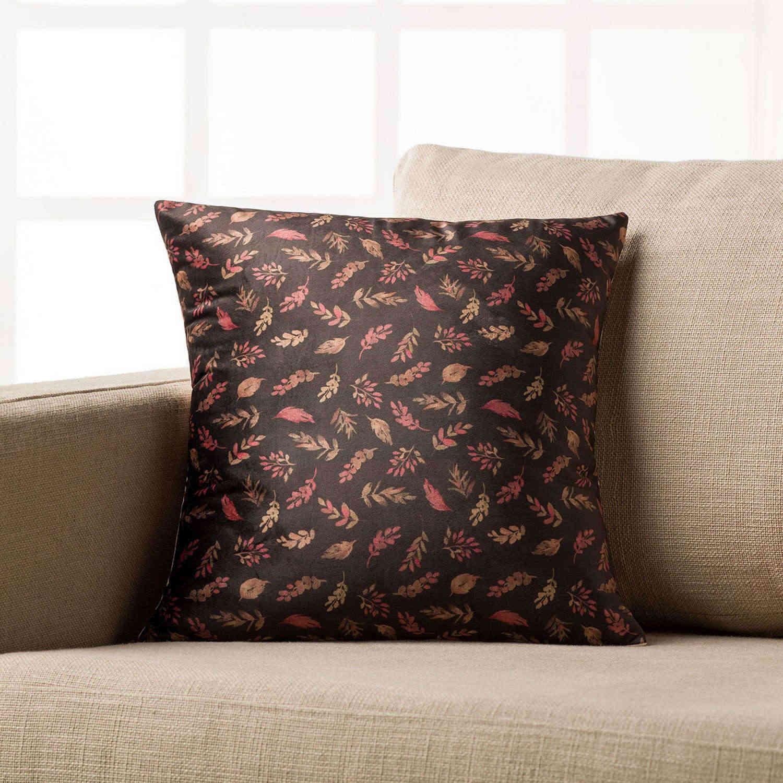 Διακοσμητική Μαξιλαροθήκη Suede 543 Gofis Home 45X45 100% polyester
