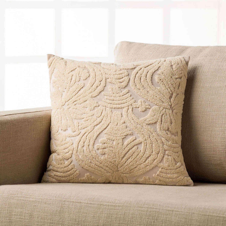 Διακοσμητική Μαξιλαροθήκη Suede 957/ 05 Εκρού Gofis Home 45X45 100% Polyester