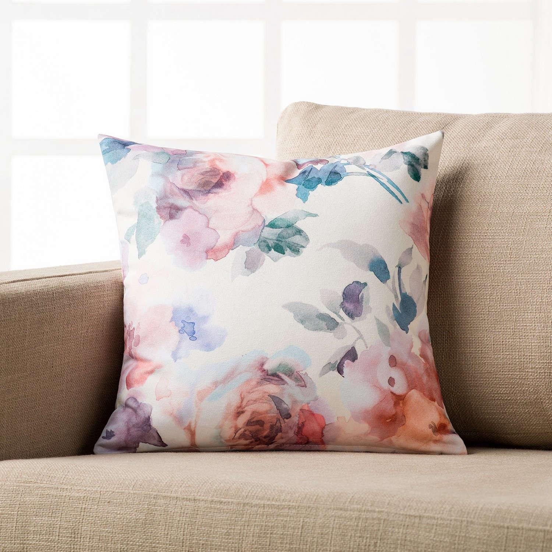 Διακοσμητική Μαξιλαροθήκη Suede Με Τυπωμένο Σχέδιο 185 Gofis Home 45X45 100% Polyester