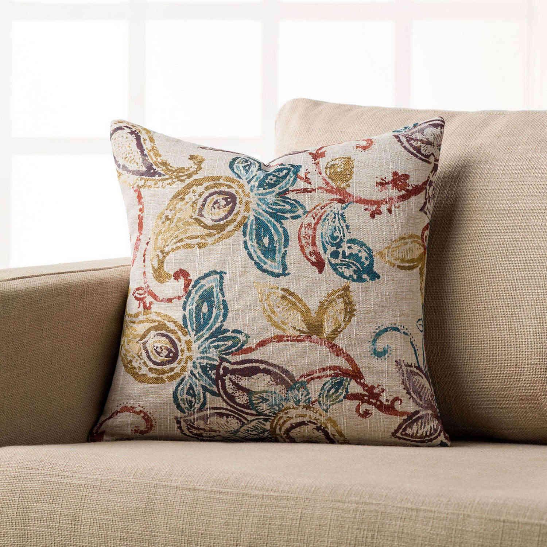 Διακοσμητική Μαξιλαροθήκη 506 Multi Gofis Home 45X45 100% Polyester