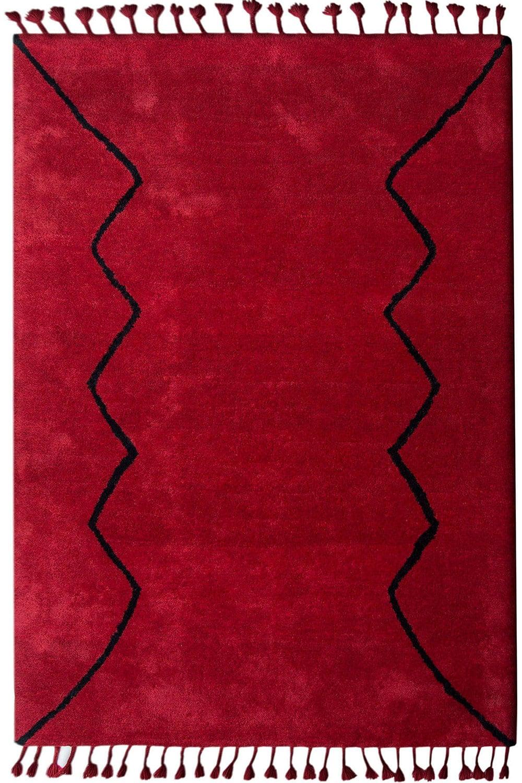 Χαλί Boujad 8908-MONT-G8 Red Angelo 160X230
