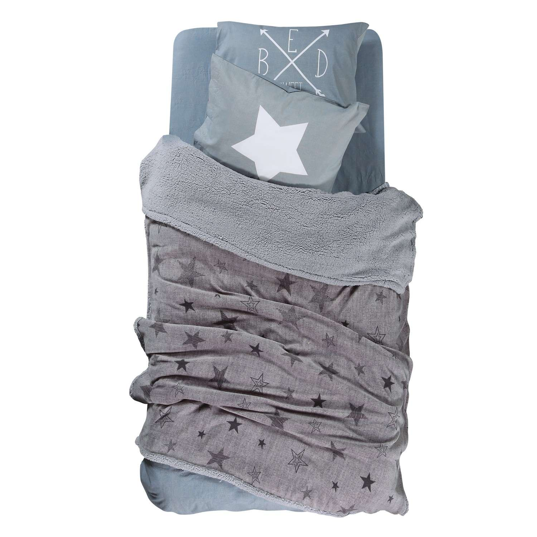 Κουβέρτα Astro Grey Nef-Nef Μονό 160x220cm