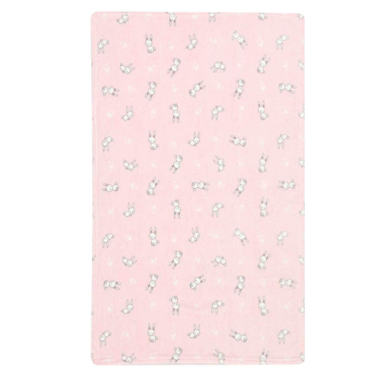 Κουβέρτα Fleece Bunny Life Pink Nef-Nef Κούνιας 110x140cm