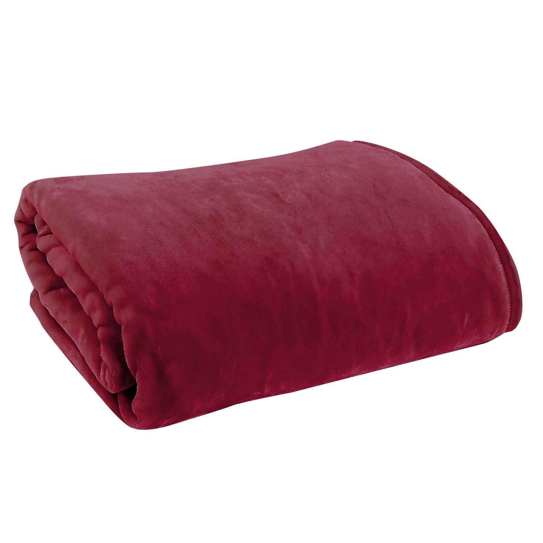 Κουβέρτα Loft Bordo Nef-Nef Υπέρδιπλo 240x220cm