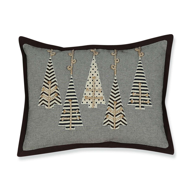 Μαξιλάρι Διακοσμητικό Χριστουγεννιάτικο (Με Γέμιση) Jewellery Trees Nef-Nef 30Χ50