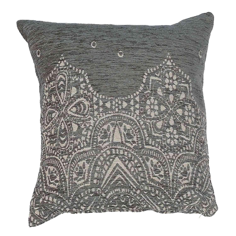 Μαξιλάρι Διακοσμητικό (Με Γέμιση) Vellore Winter Grey Nef-Nef 45X45 Βαμβάκι-Polyester