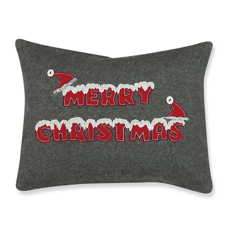 Μαξιλάρι Διακοσμητικό Χριστουγεννιάτικο (Με Γέμιση) Merry Christmas Nef-Nef 30Χ50