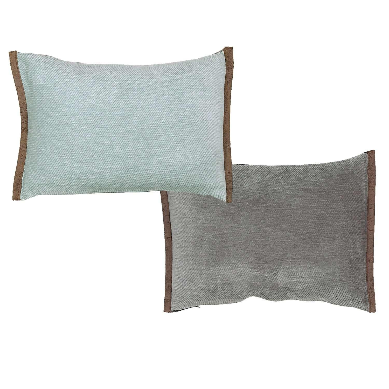 Μαξιλάρι Διακοσμητικό (Με Γέμιση) Tanger Aqua 18 Nef-Nef 30Χ50 100% Polyester