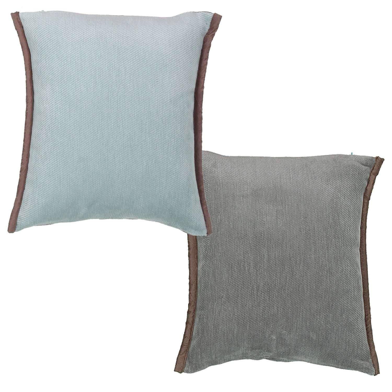 Μαξιλάρι Διακοσμητικό (Με Γέμιση) Tanger Aqua 18 Nef-Nef 45X45 100% Polyester