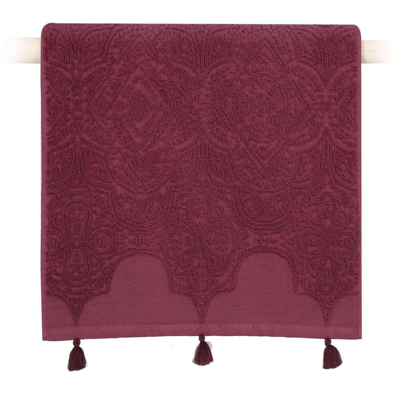 Πετσέτα Henna Winter Bordo Nef-Nef Χεριών 30x50cm