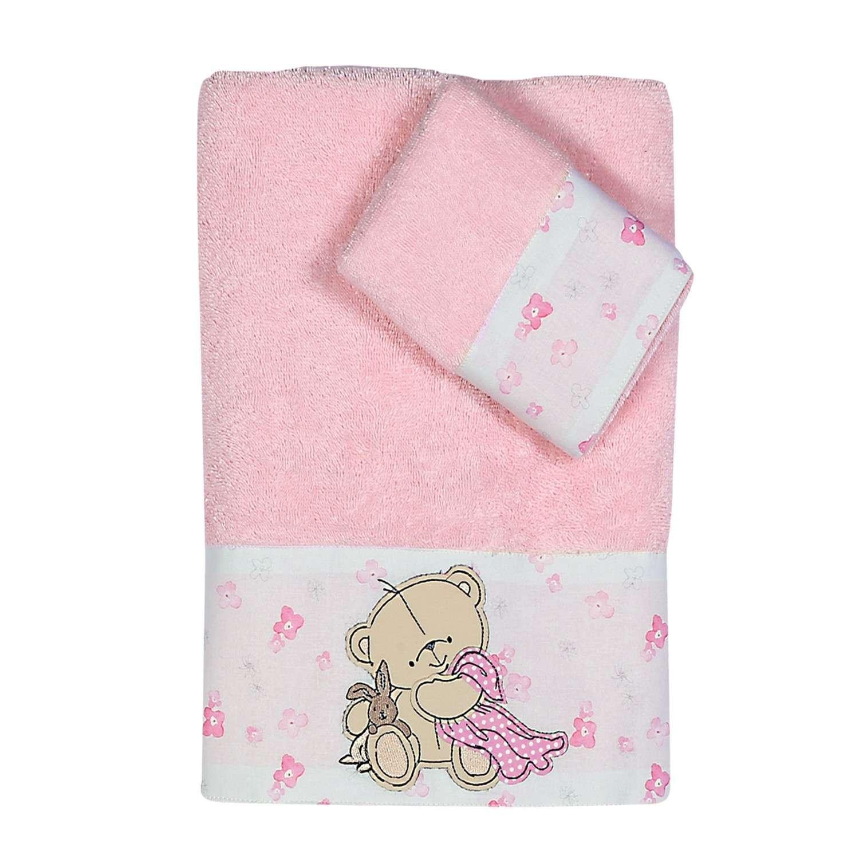 Πετσέτες Σετ 2τμχ Nap Time Pink Nef-Nef Σετ Πετσέτες