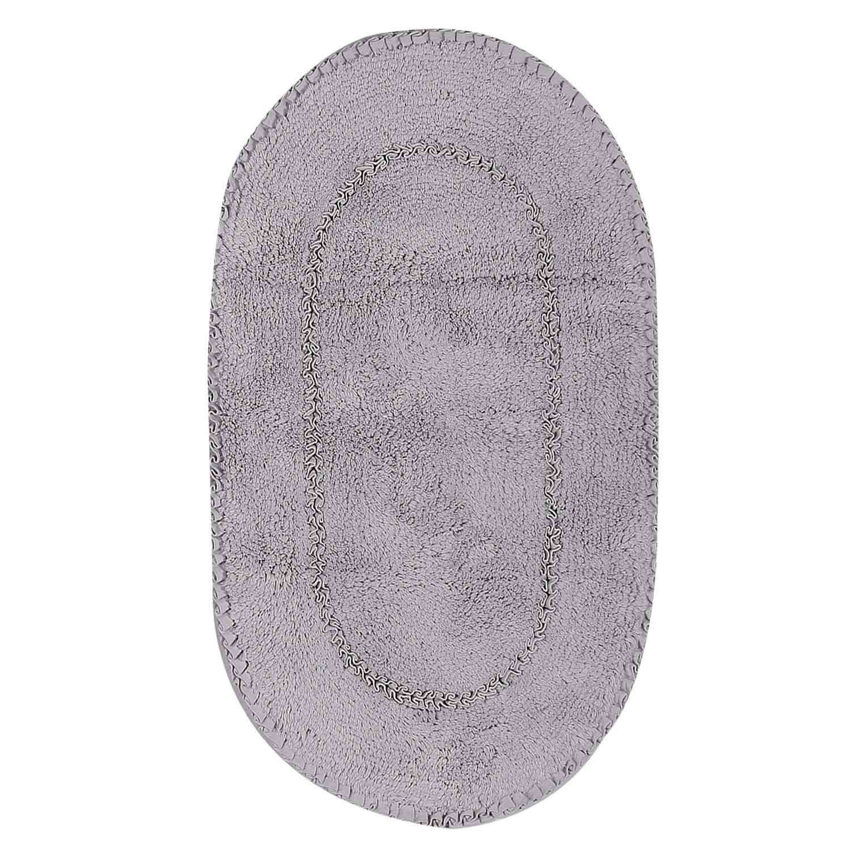 Ταπέτο Μπάνιου New Crochet Grey Nef-Nef Medium 55x85cm