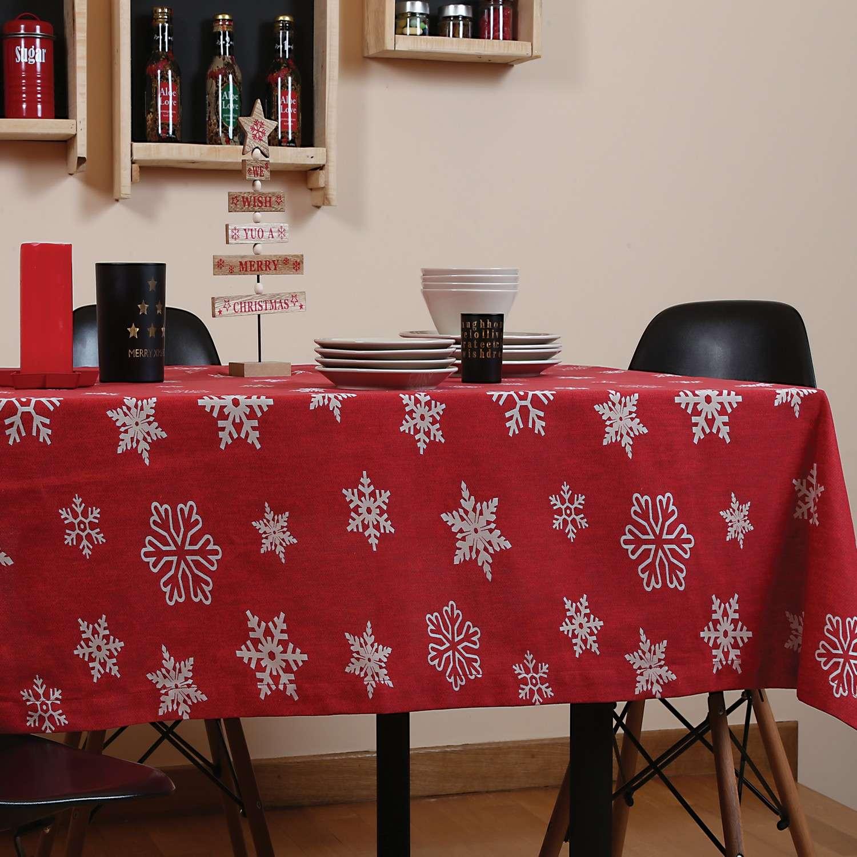 Τραπεζομάντηλο Χριστουγεννιάτικο Miracle Nef-Nef 150X200 140x180cm