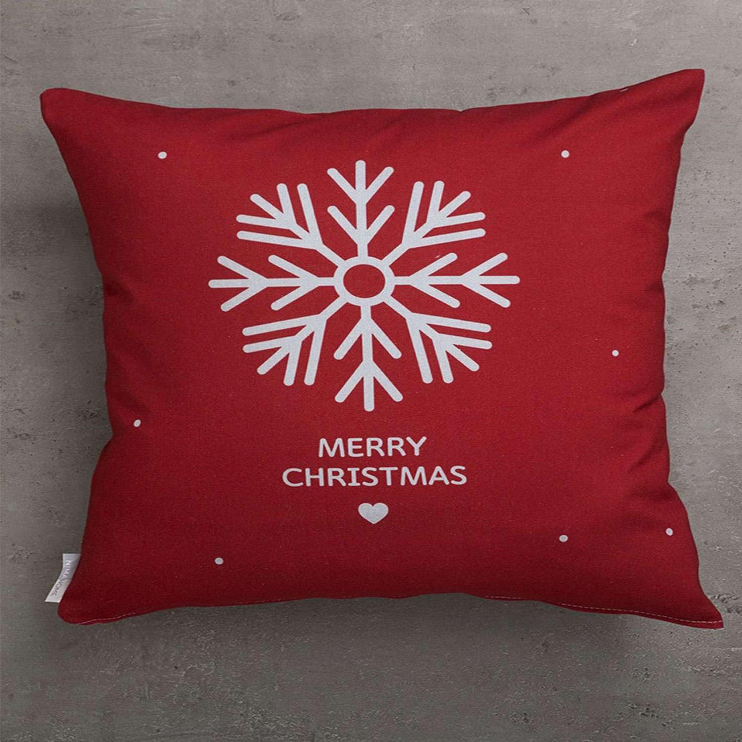 Μαξιλάρι Διακοσμητικό Χριστουγεννιάτικο (Με Γέμιση) Frosty Nima 45X45