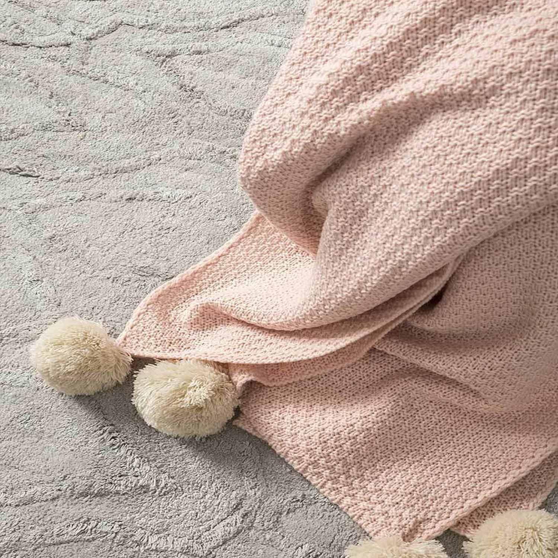 Κουβέρτα Καναπέ Braid Salmon Nima 150X180 130x170cm