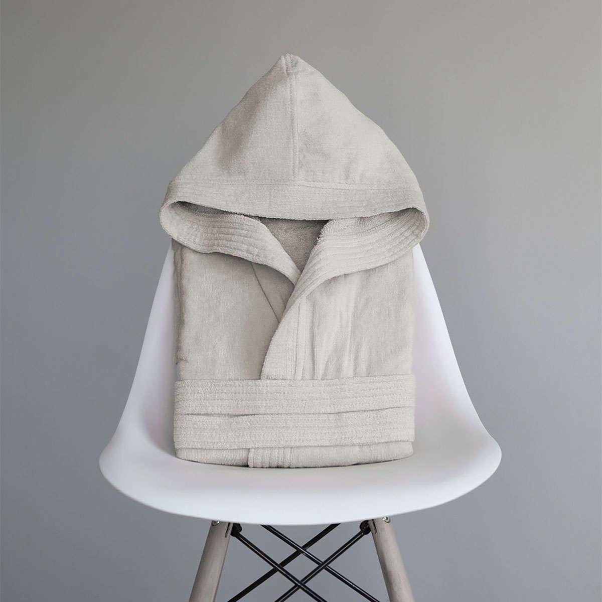 Μπουρνούζι Με Κουκούλα Zen – Beige Nima X-Large XL