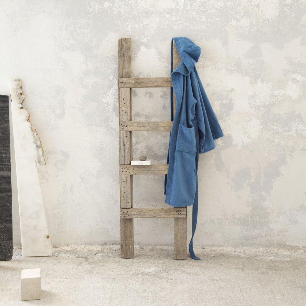 Μπουρνούζι Με Κουκούλα Zen – Denim Blue Nima X-Large XL
