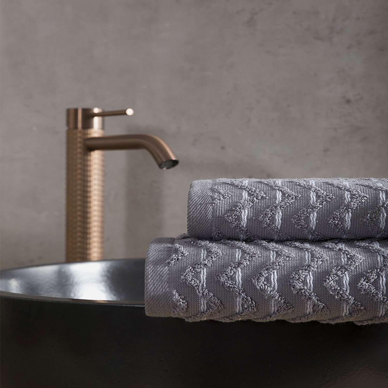 Πετσέτα – Vestige Gray Nima Σώματος 70x140cm
