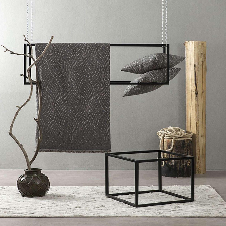 Ριχτάρι – Allure Dark Gray Nima Τριθέσιο 180x300cm