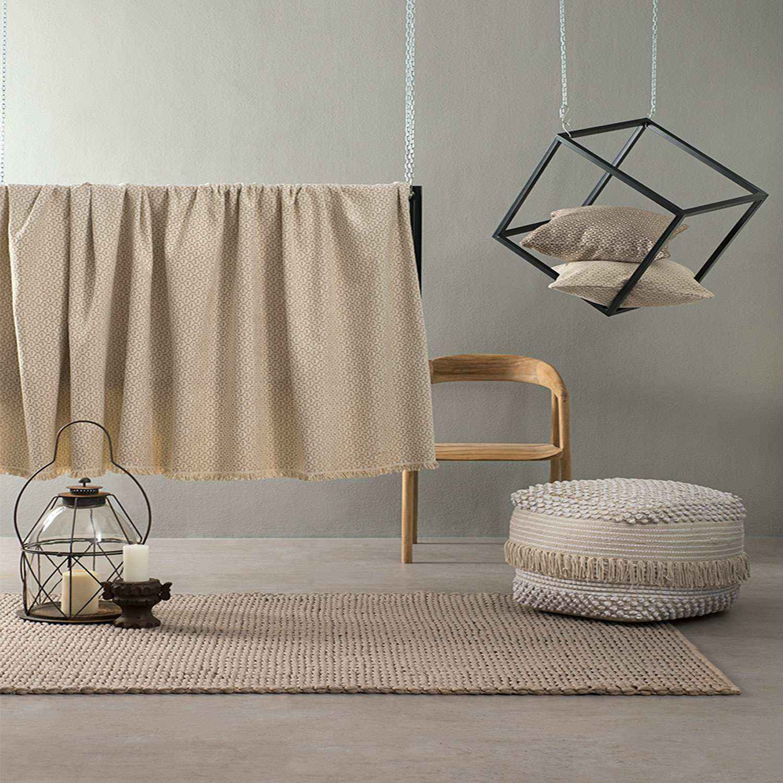 Ριχτάρι – Tiffany Ivory Nima Τριθέσιο 180x300cm