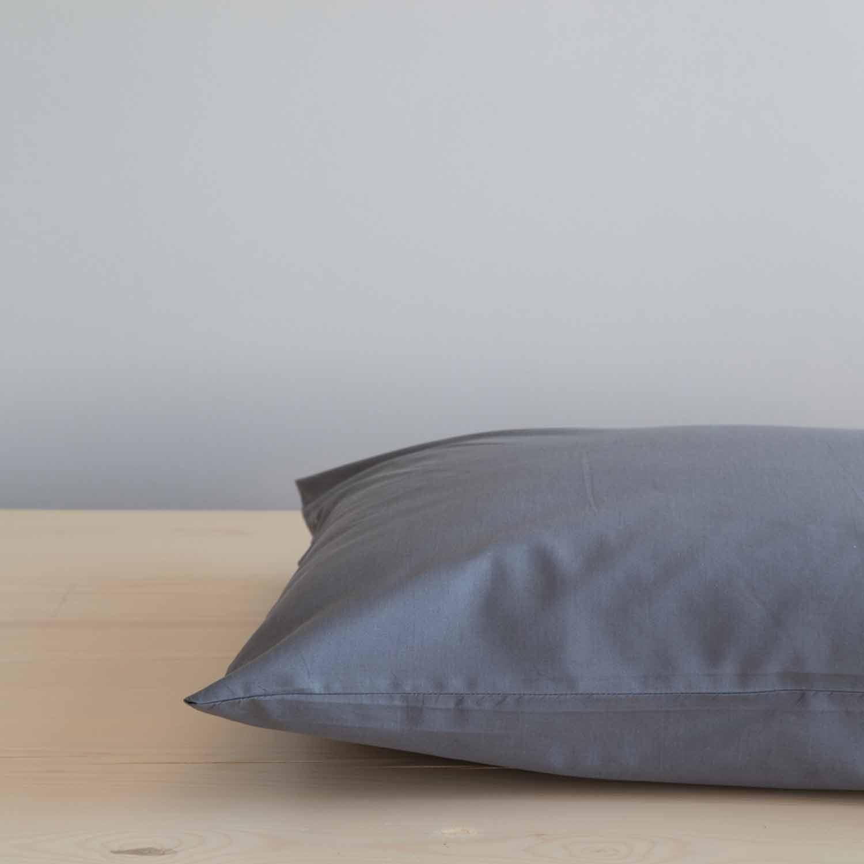 Σεντόνι Unicolors – Dark Gray Nima Ημίδιπλο 180x260cm