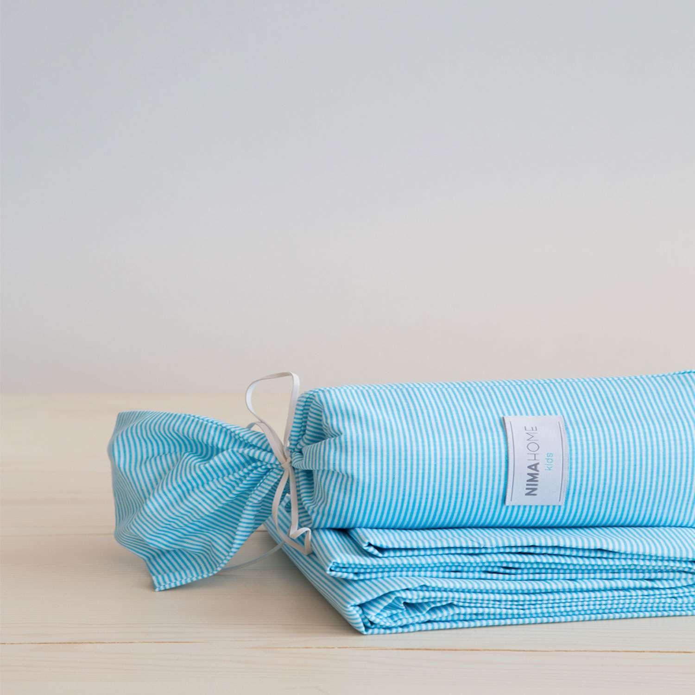 Σεντόνι – Flip Flap Aqua Nima Μονό 170x250cm