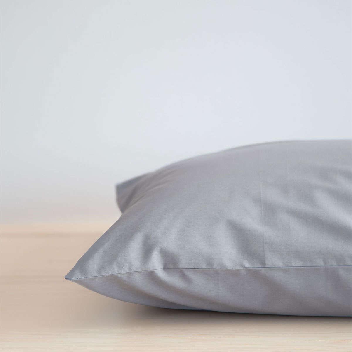 Σεντόνι Με Λάστιχο Unicolors – Graphite Nima Μονό 100x232cm