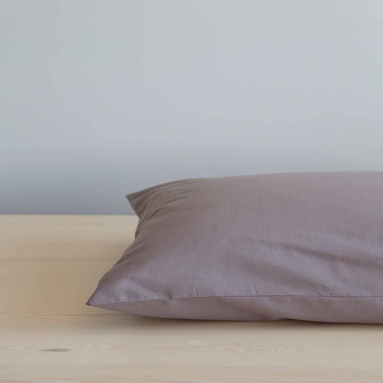 Σεντόνι Με Λάστιχο Unicolors – Dark Taupe Nima Υπέρδιπλo 160x200cm