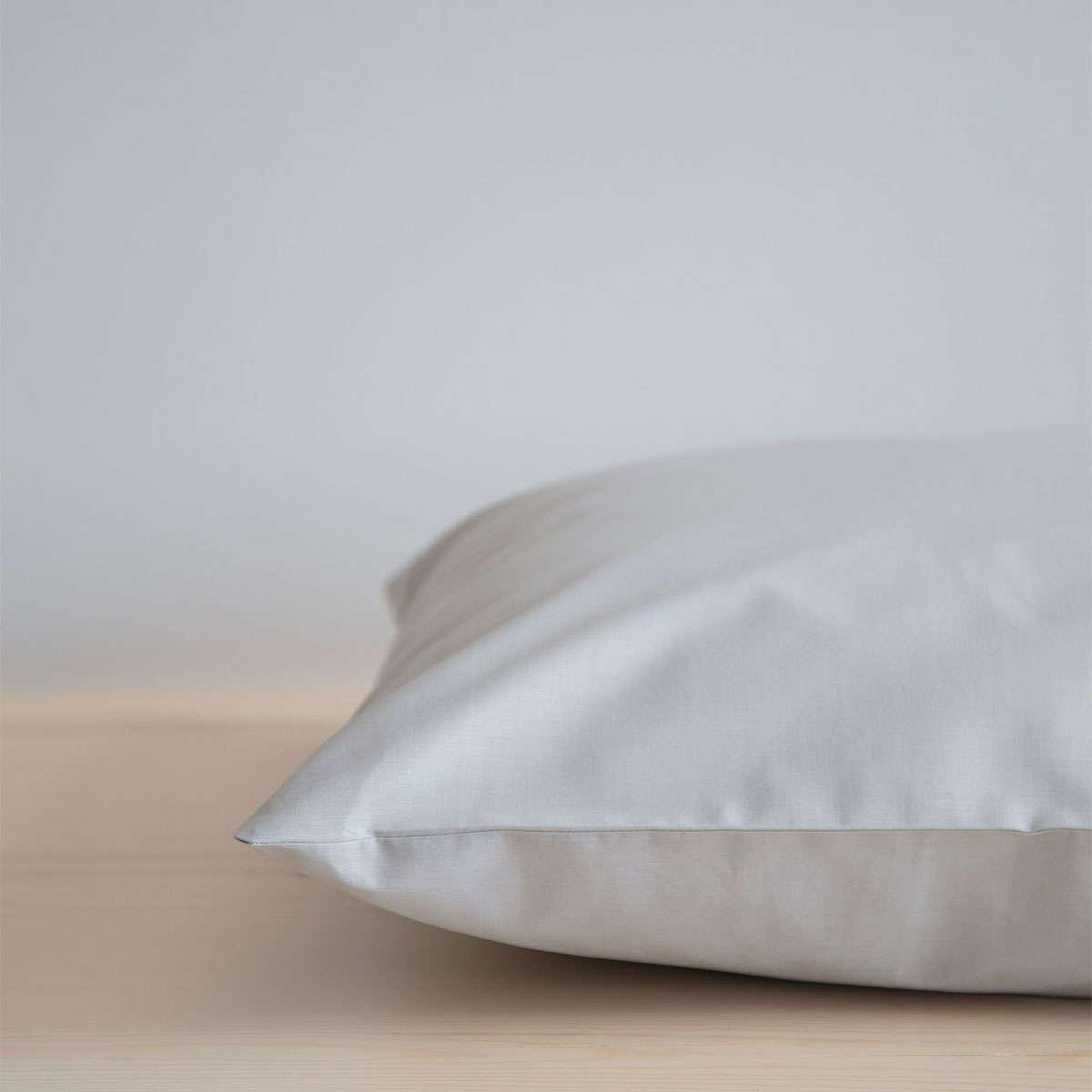 Σεντόνι Με Λάστιχο Unicolors – Silver Gray Nima Υπέρδιπλo 160x200cm