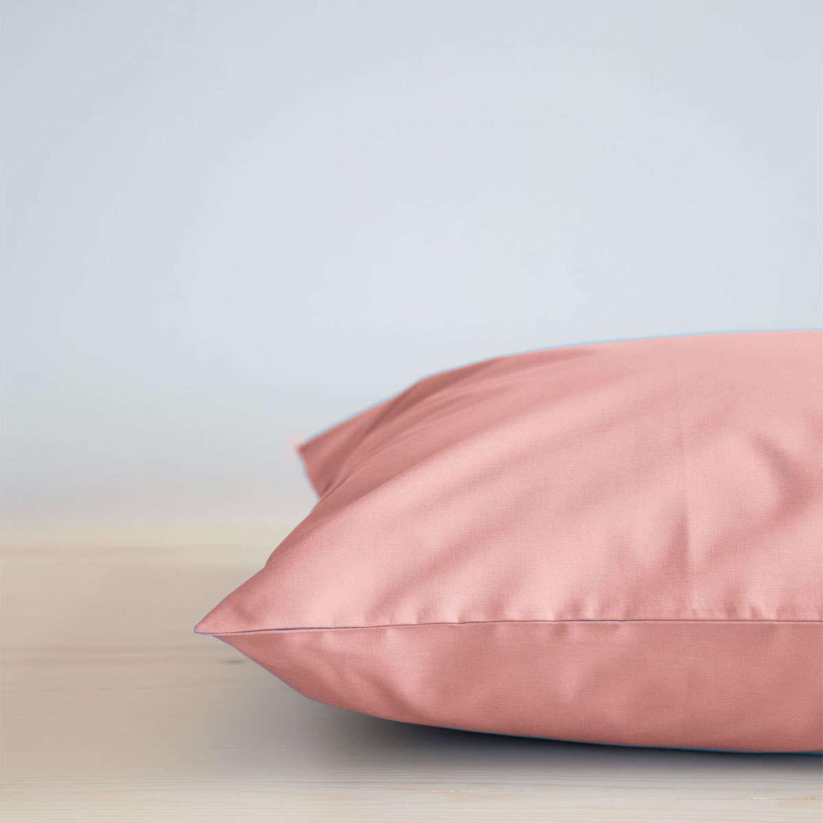Σεντόνι Με Λάστιχο Unicolors – Rouge Pink Nima Υπέρδιπλo 160x200cm
