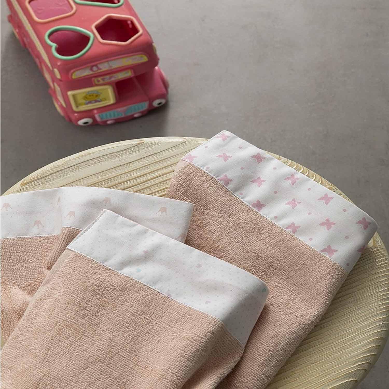 Πετσέτες Σετ 3τμχ – Sweet Pea Nima Σετ Πετσέτες 30x30cm