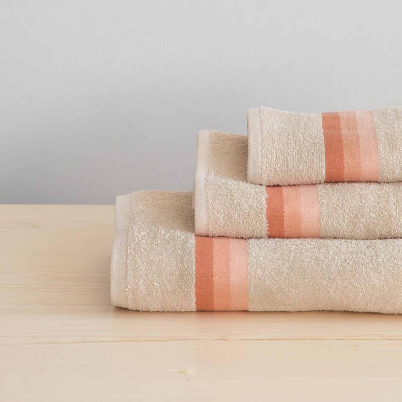 Πετσέτες Σετ 3τμχ. Avra – Light Salmon Nima Σετ Πετσέτες