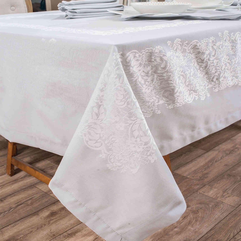 Πετσέτες Φαγητού Σετ 4τμχ Jewel 03 Grey Teoran 43x43cm