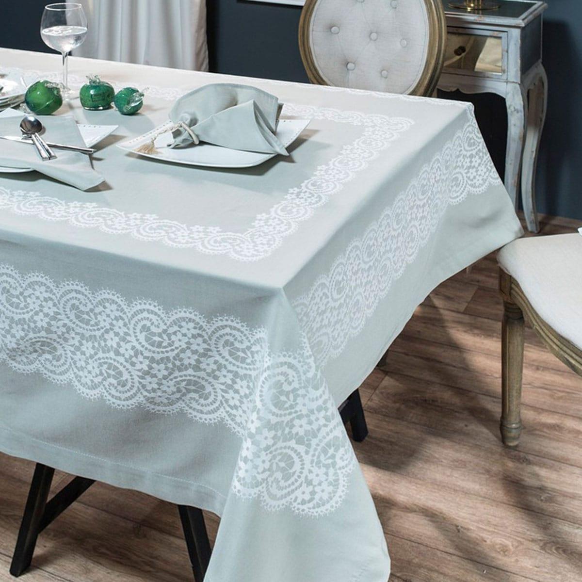 Πετσέτες Φαγητού Dantelle Σετ 4τμχ 13 Mint Teoran 43x43cm