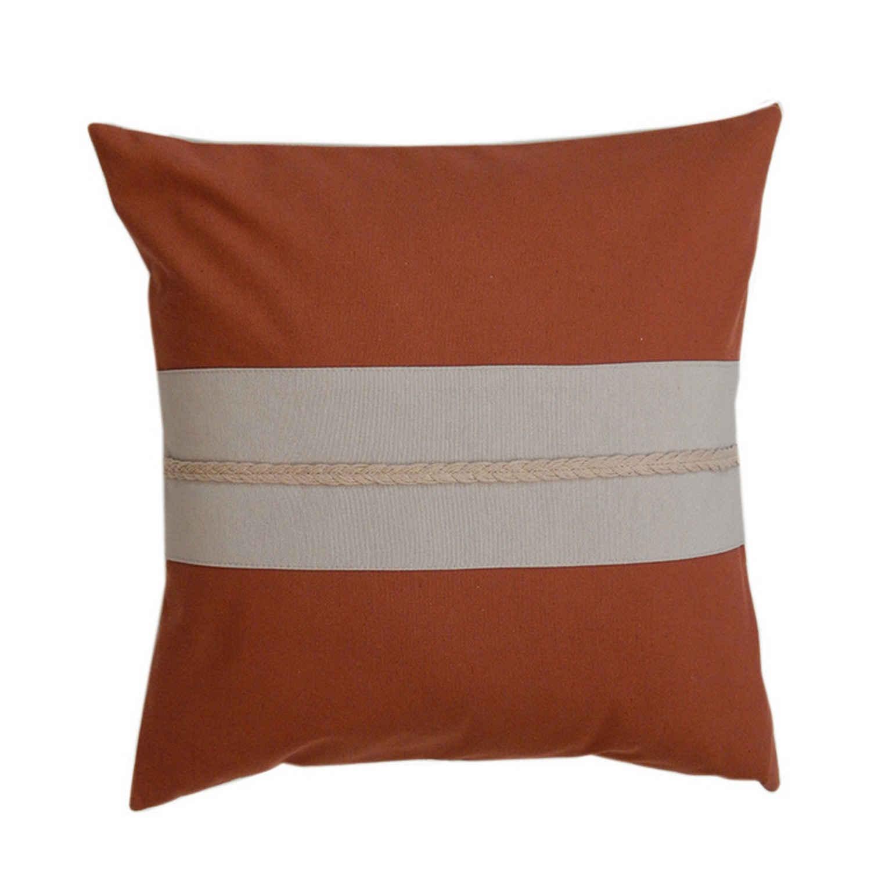Μαξιλαροθήκη Διακοσμητική 138 Omega Home 45X45 Βαμβάκι-Polyester