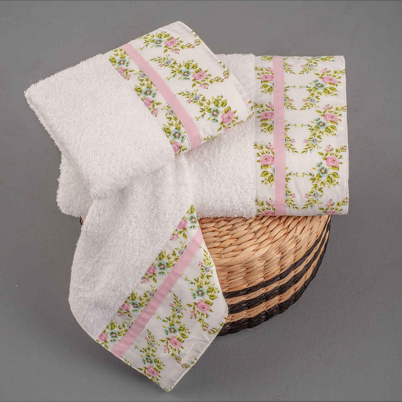 Πετσέτες Σετ 3 τμχ 257 Omega Home Σετ Πετσέτες