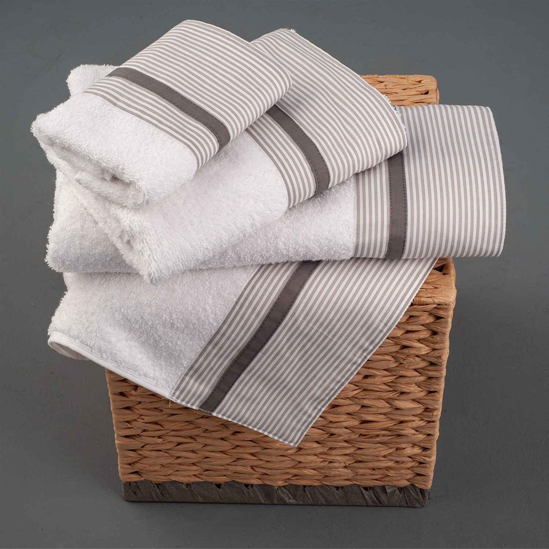 Πετσέτες Σετ 3 τμχ 259 Omega Home Σετ Πετσέτες