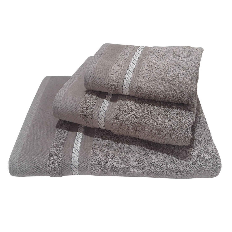 Πετσέτες Σετ 3 τμχ 154 Omega Home Σετ Πετσέτες