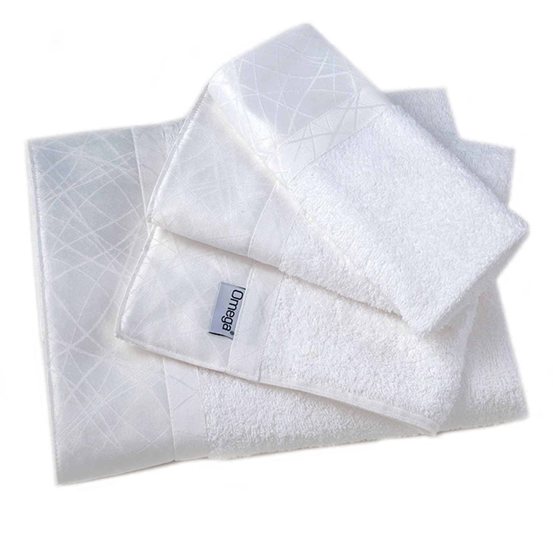 Πετσέτες Σετ 3 τμχ 111 Omega Home Σετ Πετσέτες