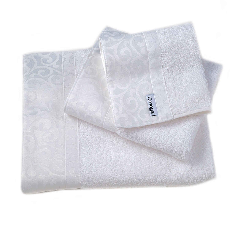 Πετσέτες Σετ 3 τμχ 112 Omega Home Σετ Πετσέτες