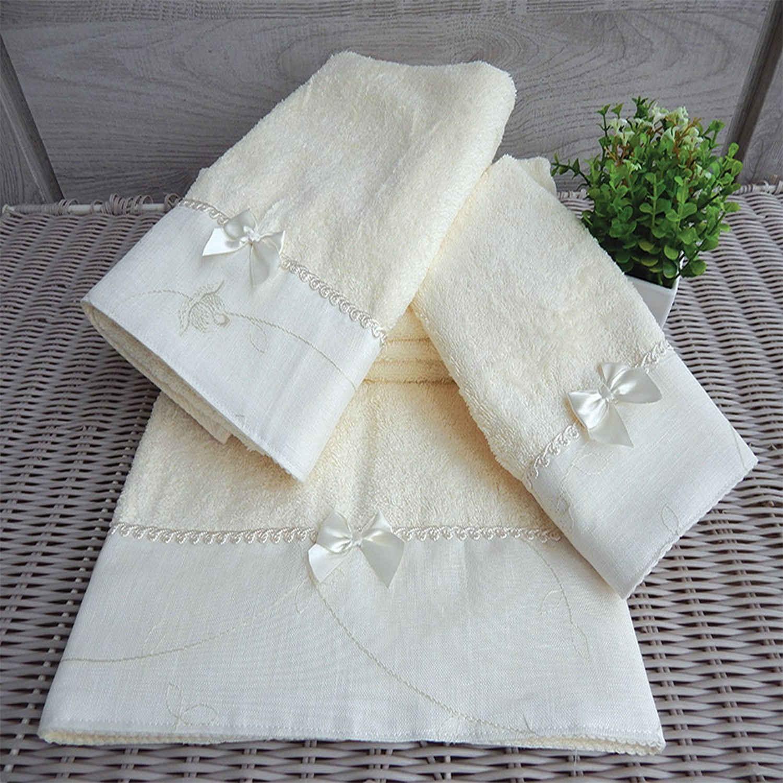 Πετσέτες Σετ 3 τμχ 161 Omega Home Σετ Πετσέτες