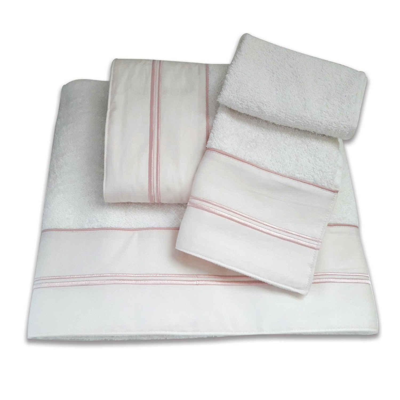 Πετσέτες Σετ 3 τμχ 163 Omega Home Σετ Πετσέτες