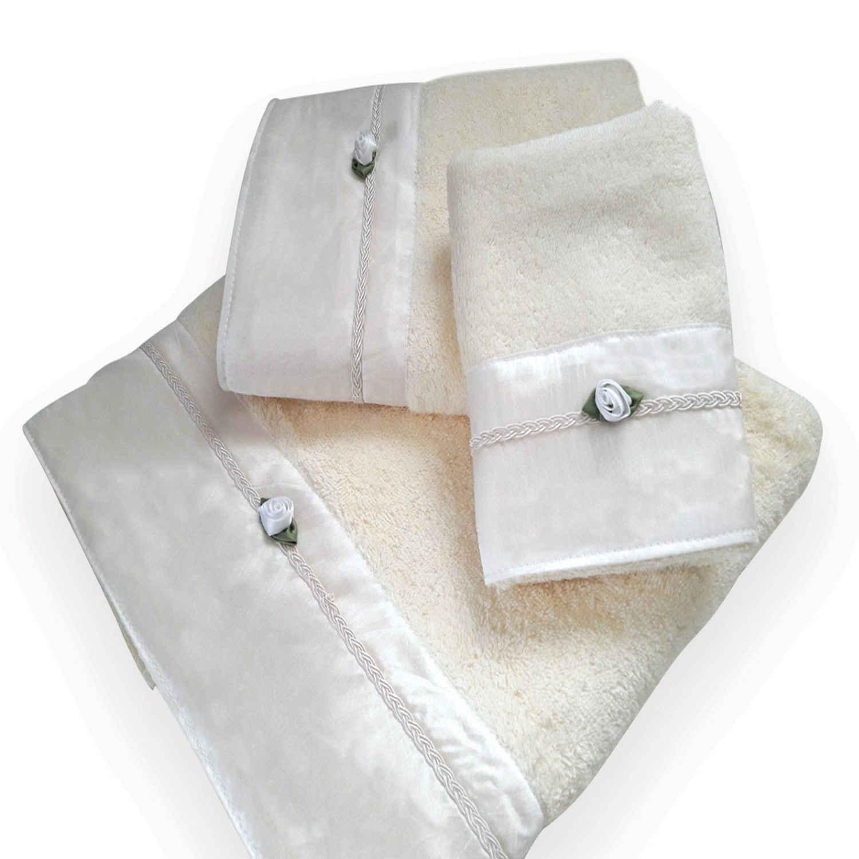 Πετσέτες Σετ 3 τμχ 169 Omega Home Σετ Πετσέτες