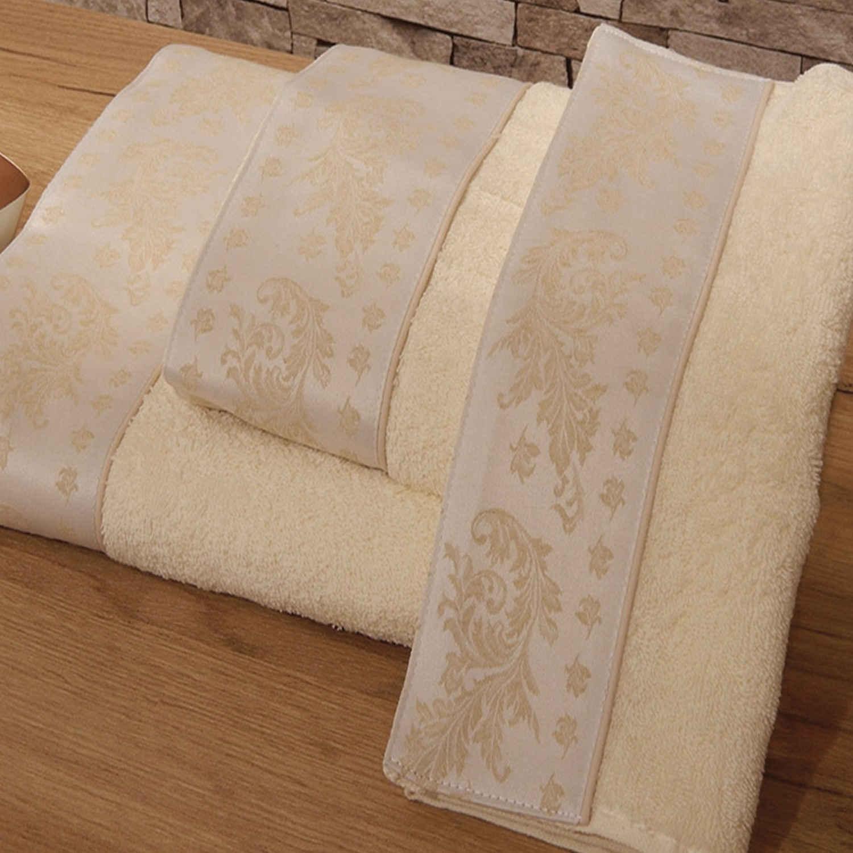 Πετσέτες Σετ 3 τμχ 167 Omega Home Σετ Πετσέτες