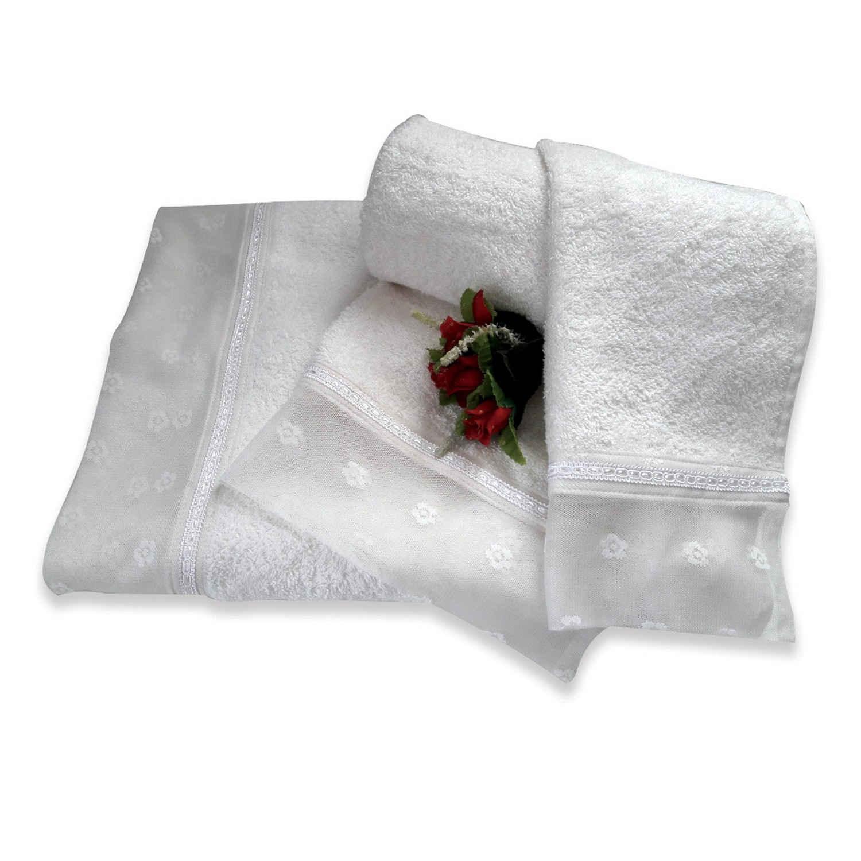 Πετσέτες Σετ 3 τμχ 170 Omega Home Σετ Πετσέτες