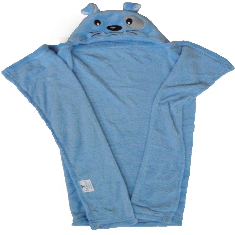 Κουβέρτα Fleece Βρεφική Με Κουκούλα Σχ. 82 Viopros ΑΓΚΑΛΙΑΣ 76x102cm