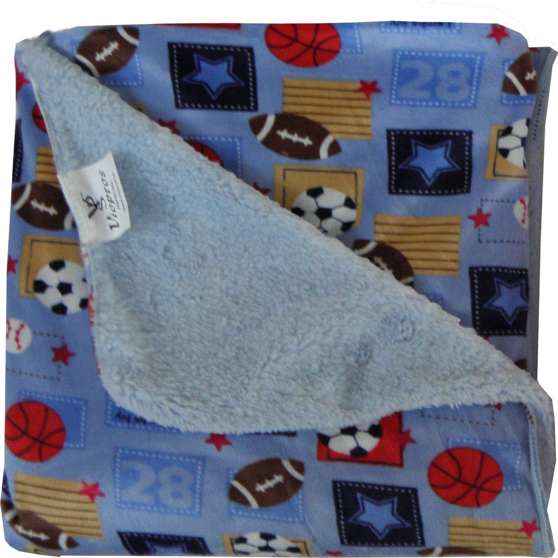 Κουβέρτα Βρεφική Δύο Όψεων Σχ. 72 Viopros ΑΓΚΑΛΙΑΣ 76x102cm