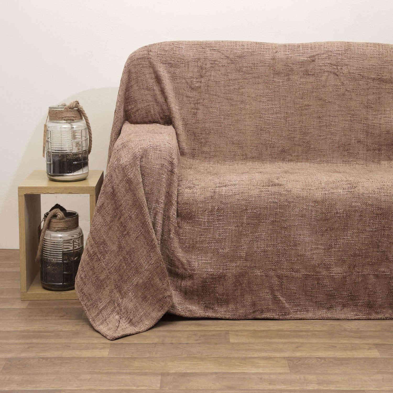 Μαξιλάρι Διακοσμητικό (Με Γέμιση) Σχ.2011 Καστανό Viopros 45X45 45x45cm