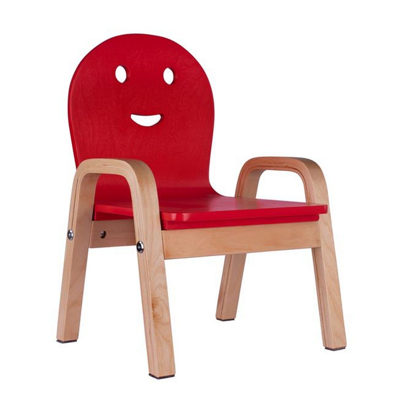 Καρεκλάκι Παιδικό Smile HM8426.05 Με Κόκκινο Κάθισμα